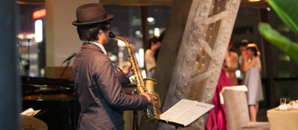 結婚式で生演奏